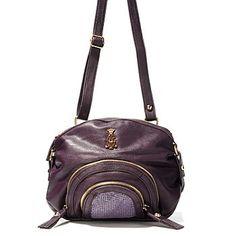 """Christian Audigier """"Natural Charms"""" Mesh Panel Cross Body Handbag -$34.72"""