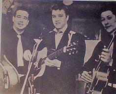 Bill, Mr. Presley and Scotty