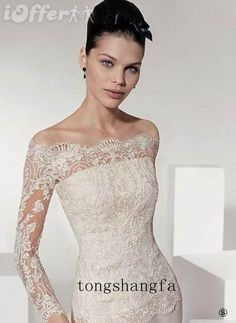 Lace top formal dress cream - love it !!!