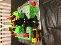 Construction birthday cake!