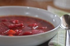 Borscht (Beet Soup) is a classic and hearty dish. Serve it with buttered bread and a dollop of sour cream or fresh cream.