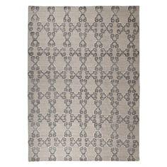 Patterned Gray/Ivory Medium Rug R401462 Patterned Gray-Ivory Medium Rug