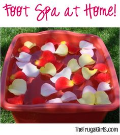 Foot Spa at Home! from TheFrugalGirls.com ~ you'll love these simple tips and tricks for the ultimate treat-for-your-feet! #pedicure #thefrugalgirls