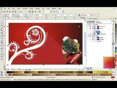 How to Design Ornament or Swirl using CorelDRAW