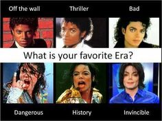 Bad has my top 3 favourite MJ songs, so I'll say Bad!