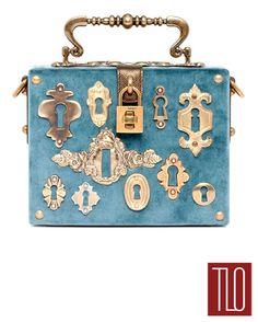 Dolce-Gabbana-Fall-2014-Collection-Keyhole-Handbag
