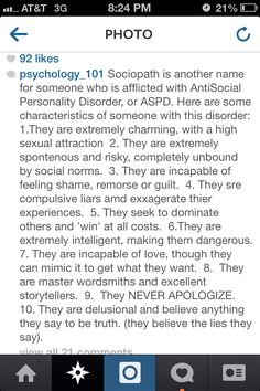 Ptsd from dating a sociopath