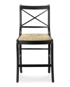 Madeleine Counter Stool #williamssonoma. $495 list each.