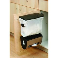 KITCHEN TOOL/TRASH: Keep It Hidden! And Small So You Must Dump The