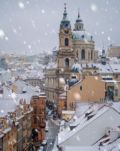 Prague in winter, europe in winter, budapest winter, lofoten, places to tra Places To Travel, Travel Destinations, Places To Visit, Purpose Of Travel, Prague Travel, Prague Czech Republic, Belle Villa, Dubrovnik, Travel Abroad