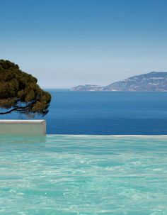 Cool off in the stunning infinity pool or kick back in a poolside cabana. #Italy