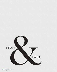 I Can and I Will♥  ♥ @Tonjaamenra