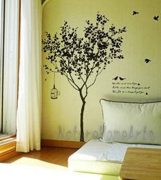 Wandtattoo - wall art, wall tattoo via dawanda