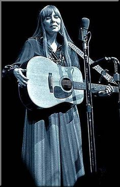 Joni Mitchell did not make it to Woodstock but she wrote a song capturing the essence of the music fest