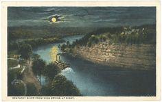 KY River postcard