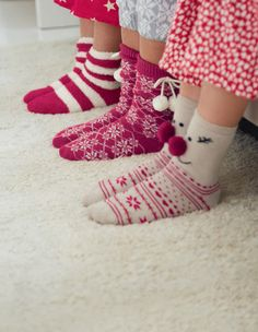 Fun slipper socks!