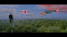 """114.7k Likes, 265 Comments - Star Wars (@starwars) on Instagram: """"Rebel fighters launch to defend Yavin IV against the Death Star in one of the pivotal moments in…"""""""