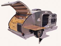 Teardrop Tear Drop Camper Trailer RV Pop-Up Plans How to Build Build Your Own on eBay! Brought to you by #Eugene CarInsurance and #HouseofInsurance.