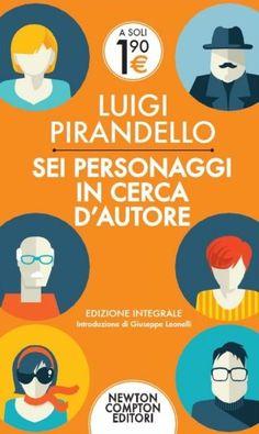 #Daleggere : Sei personaggi in cerca di autore, Pirandello #classici #letteraturaitaliana #Pirandello