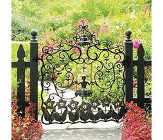 garden gate + fabulous!