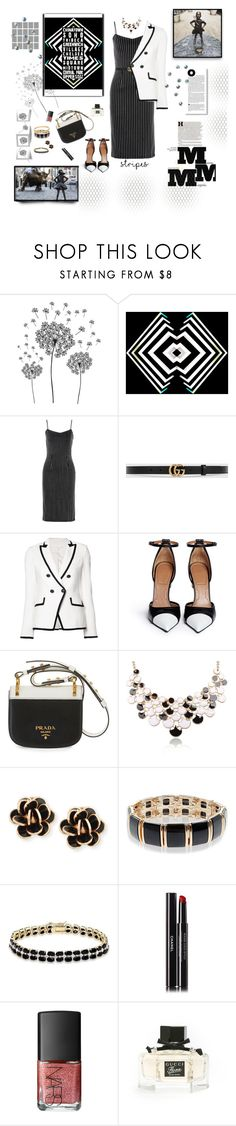 """Inspired by this Beautiful Statue "" A Fearless Girl takes on Wall Street 'S Golden Bull"" by deborah-518 ❤ liked on Polyvore featuring jcp, Tanya Taylor, Gucci, Veronica Beard, Givenchy, Prada, Chantecler, Accessorize, Dolce Giavonna and Maison Margiela"
