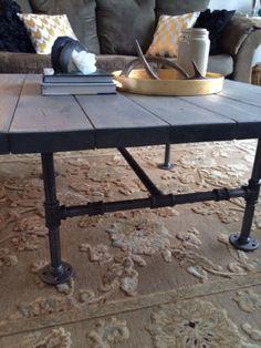 Rustic/Industrial Coffee Table | coffee tables | Edmonton | Kijiji