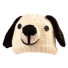 Puppy Hat Free Knitting Pattern and more free dog knitting patterns