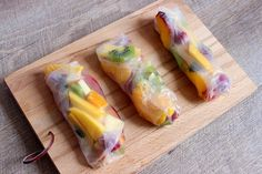 Bonjour Darling - Blog Illustration, Cuisine et DIY Bordeaux: Rouleaux de printemps aux fruits