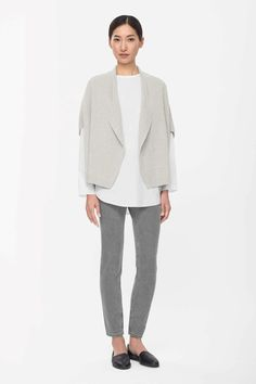 COS | Loose-fit ribbed cardigan