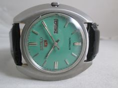 100% AUTHENTIC VINTAGE SEIKO AUTOMATIC 21J FOR MENS WEARING JAPAN MADE WATCH  #SEIKO #CartoonIdolcasualdress Favre Leuba, Seiko Automatic, Vintage Watches, The 100, Menswear, Japan, How To Wear, Accessories, Okinawa Japan