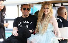 Avril Lavigne & Chad Kroeger's pre wedding party in Cannes, France