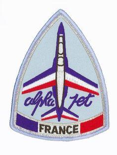 Patch Alpha Jet Patrouille de France