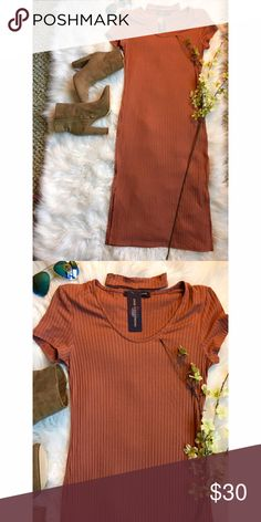Choker midi dress, NWT, size medium This choker midi dress is rust colored and perfect for so many occasions. Size medium & brand new with tags! Listed UO for exposure. Urban Outfitters Dresses Midi