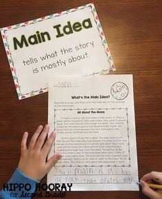 Teach your students how to find the main idea and supporting details of nonfiction texts with these scaffolded lesson ideas and activities!