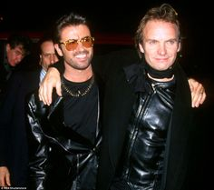 Sting and George Michel