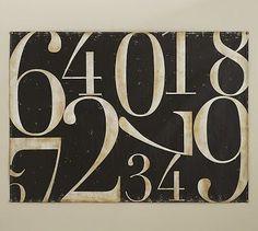 Funky Font Office Decor