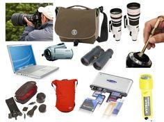 Safari Gadget Packing