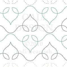 """Starlight - Paper -10"""" - Quilts Complete - Continuous Line Quilting Patterns"""