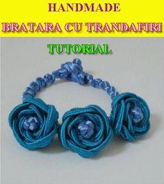 bratara handmade cu trandafiri Bratara handmade cu trandafiri Tutorial