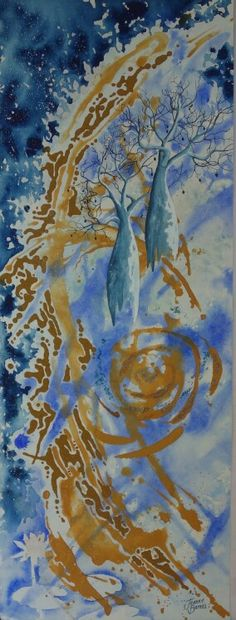 'Kimberley Primordial ' by Jeanne Barnes sold