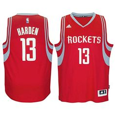 24b1fbfb786 Find Mens Adidas James Harden Red Houston Rockets Swingman ClimaStitched  Jersey online or in Nikelebron. Shop Top Brands and the latest styles Mens  Adidas ...