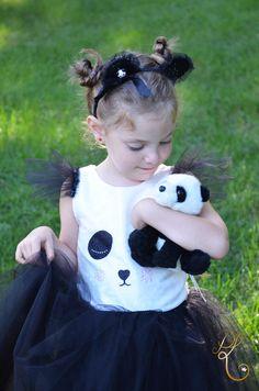 Sweet little panda Tiny Panda, Little Panda, Panda Love, Panda Birthday Party, Panda Party, Baby Birthday, Panda Costumes, Baby Costumes, Halloween Costumes