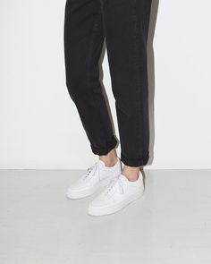 Woman by Common Projects BBall Low-Top Sneaker