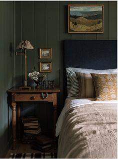 New Lake House Bedroom Green Home Decor Bedroom, Timeless Bedroom, Home, Best Bedroom Colors, Home Bedroom, Olive Green Bedrooms, Bedroom Green, Lakehouse Bedroom, Bedroom Colors