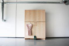 Funkcjonalny design mebli: szafa, która się rusza