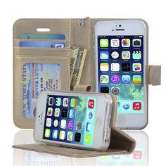 iPhone 5 / 5S / SE Wallet Case - Navor