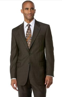 Men's Brown 3 Button Polyester affordable suit online sale | MensITALY  Price: US $109