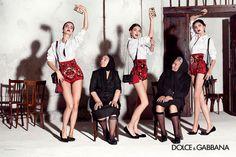 Dolce & Gabbana Women Summer 2015: Advertising Campaign