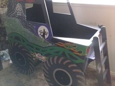 Monster Truck Grave Digger Bed From Gabriel S Special