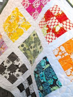 """Doll quilt...9 patches are 6"""" finished"""